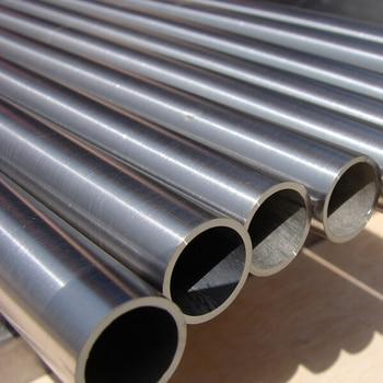 4X1mm High Quanlity  Titanium Seamless Capillary Pipe Anti-corrosion High Pressure Ti Tubing DIY Material