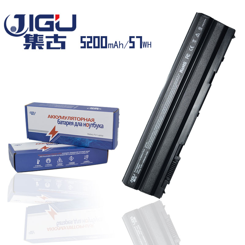 купить JIGU 5200mAH Laptop Battery For Dell Latitude E5420 E5520 E6420 E6520 E6430 E6530 E5430 T54F3 M5Y0X HCJWT KJ321 NHXVW PRRRF по цене 1346.35 рублей