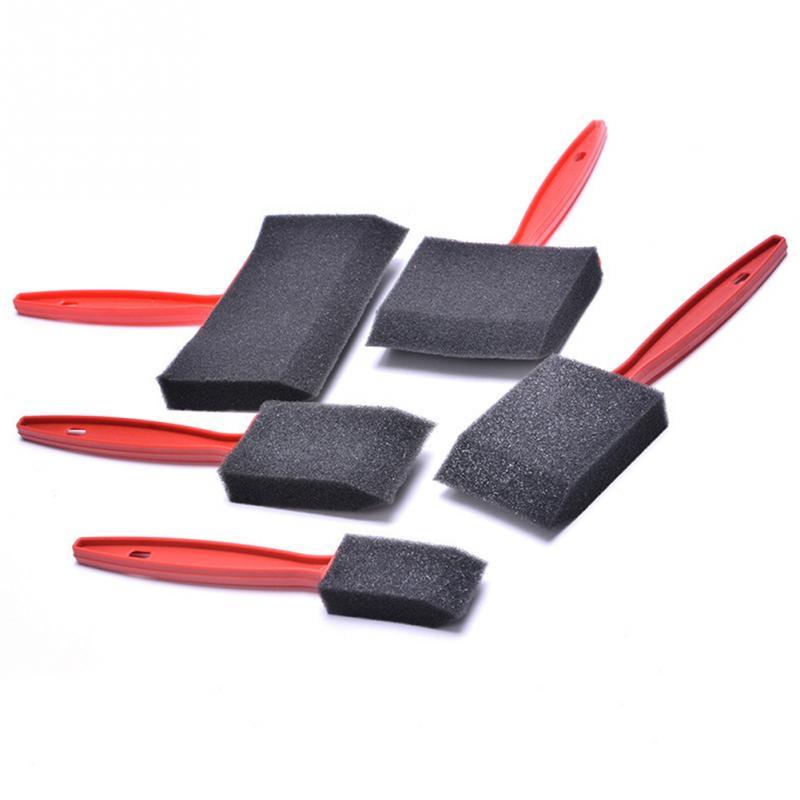 Black Painting Foam Brushes - Set of 5 5