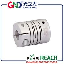 GND flexible coupling aluminum electric motor stepmotor parallel line shaft coupler of acid-base servo motor quick-coupling CNC недорого