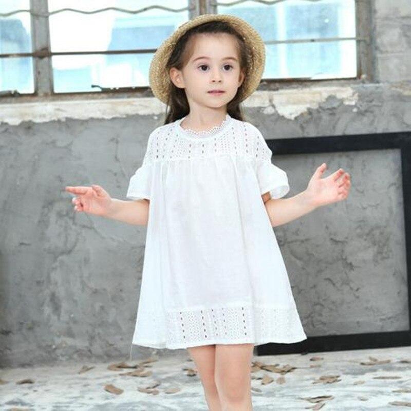 Платья для детей прямые