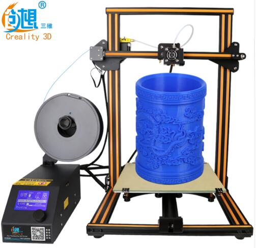 2017 latest 3D printer large size 300mm 400mm 500mm three dimensional home high precision high quiet