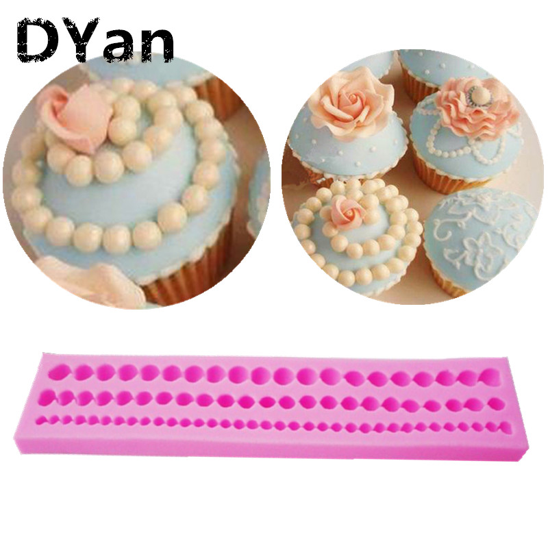 Aliexpress.com : Buy Long Pearl Shaped Fondant Mold Candy ...