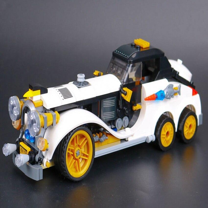 Lepin 07047 Super Heroes BatmanThe Penguin Arctic Roller building Blocks New year Gift Toys for children Bela Decool 70911