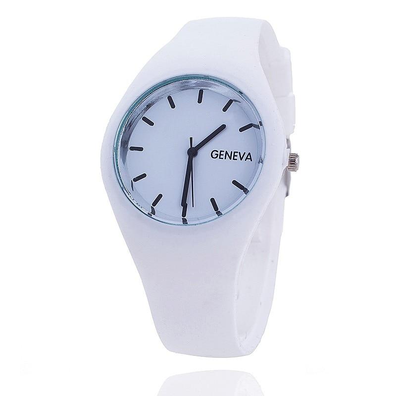2017 top luxury brand silicone strap fashion causal dress business quartz wristwatches creative gift watch for men women