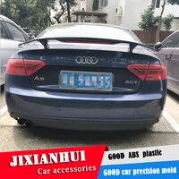 For Audi A5 Spoiler 2006 2018 Audi A5 Spoiler TF ABS plastic Material Car Rear Wing Color Rear Spoiler