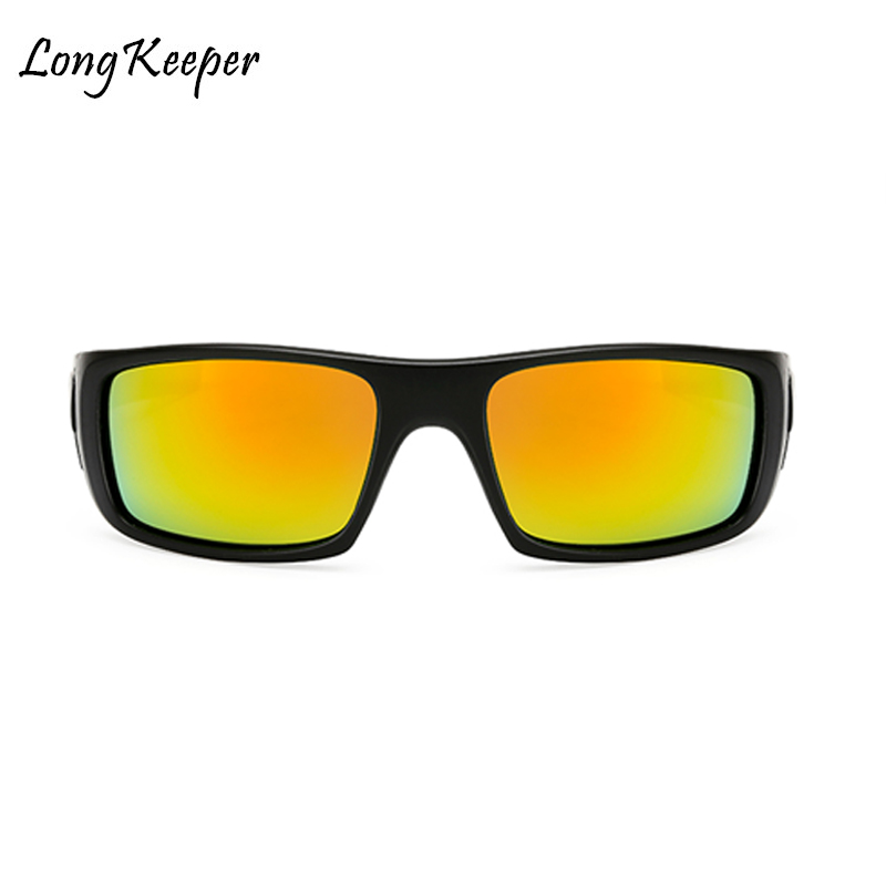Long Keeper Men's Polarized Solglasögon Night Vision Yellow Lens - Kläder tillbehör - Foto 3