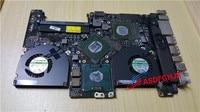 Оригинальный материнскую плату для MacBook Pro 15 Mid 2009 2,66 ГГц MB985LL 820 2523 B A1286 полностью протестирована