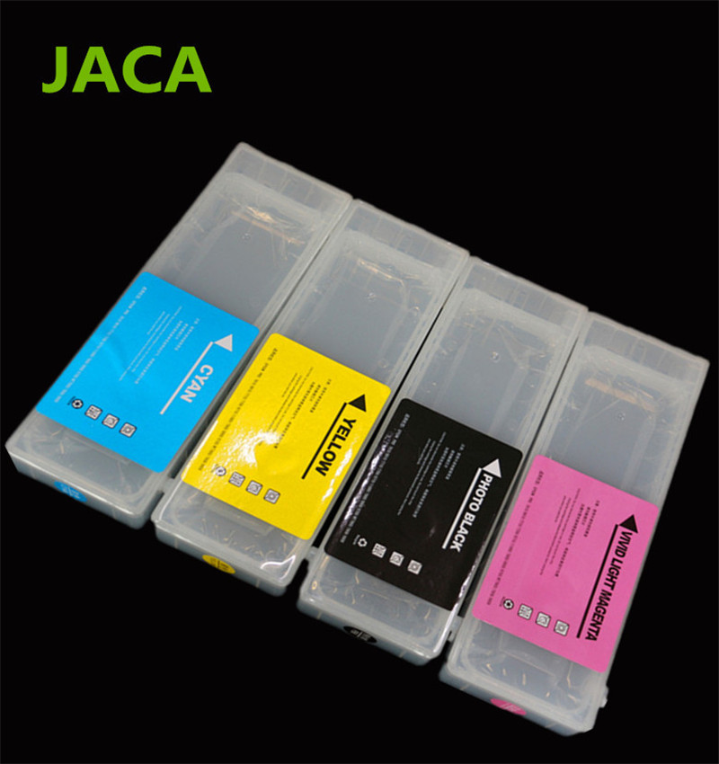 Hot Sales T8041-T8049 Refillable Ink Cartridge For Epson P6000 P8000 printer P8000 Empty Cartridge 9PCS/Set 700ML/PCS with chip hot sales 1pc large format printer of flora lj320p printer polaris printhead ink sub tank selling