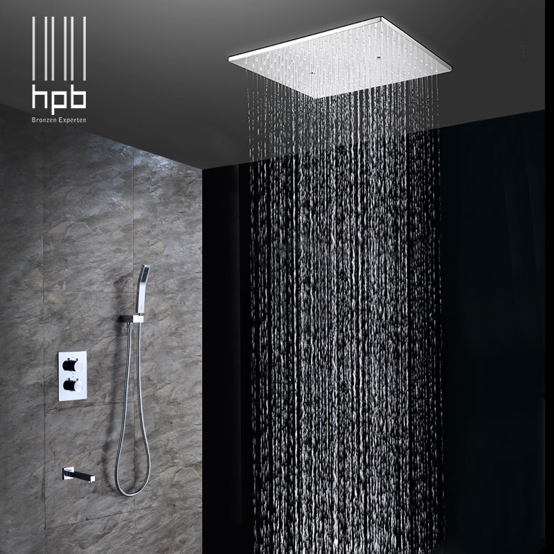 size system rainfall delta ceilings ceiling of full mounted rain shower head