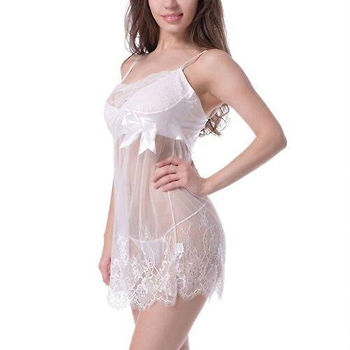 New New Sexy Lace Lingerie Dress Nightwear Underwear Babydoll Sleepwear G-String