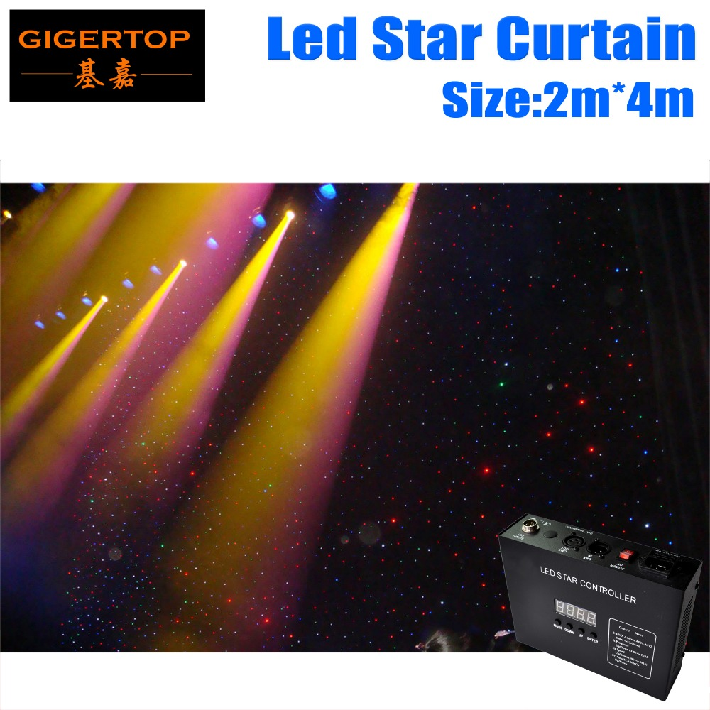 2M 4M 160pcs LED Star Cloth 90V 240V LED font b Wedding b font font b