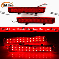 Auto External Light Led Tail Light 12v Red 48 LED Strips For Land Rover Discovery