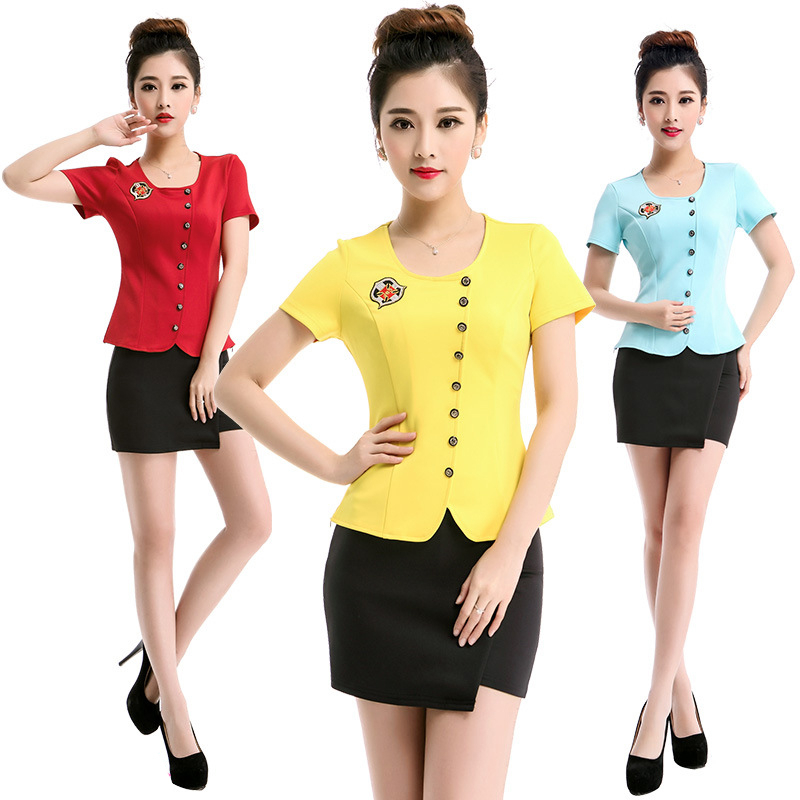 Office uniform designs women promotion shop for for Office uniform design 2016