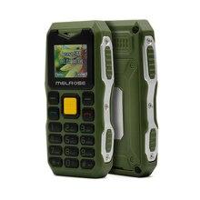 MELROSE S10 большой Голос Мини прочный мобильный телефон фонарик противоударный пылезащитный маленький телефон S9 S11