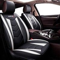 Новые универсальные чехлы для автомобильных сидений из искусственной кожи для Mitsubishi Mirage montero Outlander 3 xl 2008 2017 pajero 2 3 4 sport 2017 Space