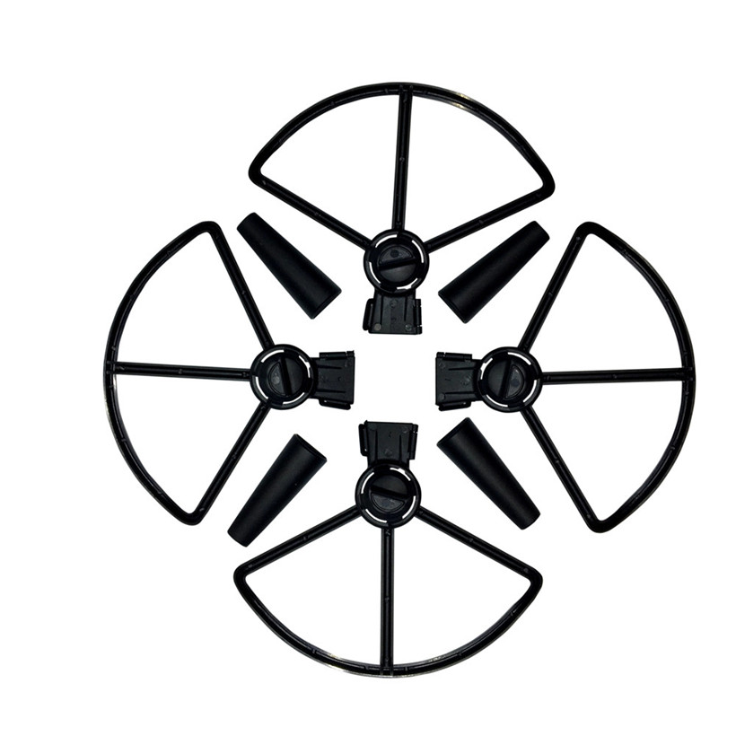 4Pcs Propeller Guards+4Pcs Landing Gear Legs Protection kit for DJI SPARK Drone drop shipping 0703