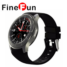 FineFun HOT Android Smart Watch SmartWatch 3G DM368 WristWatch 1.39″ AMOLED Display Quad Core Bluetooth 4.0 Heart Rate Monitor