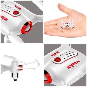 Image 2 - Original Syma X20 2.4G 4CH gyroscope poche Drone Quacopter avec Mode sans tête Altitude tenir 3D flip RC avion enfants jouets cadeau