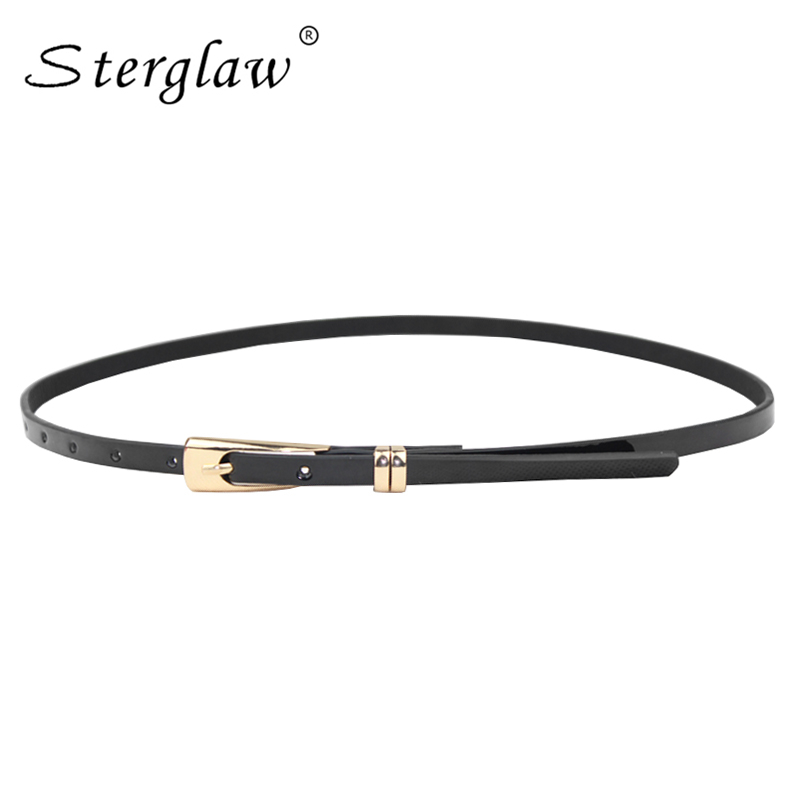 Metal Buckle font b Slimming b font Leather Belts for women 2019 hot casual Waistband female
