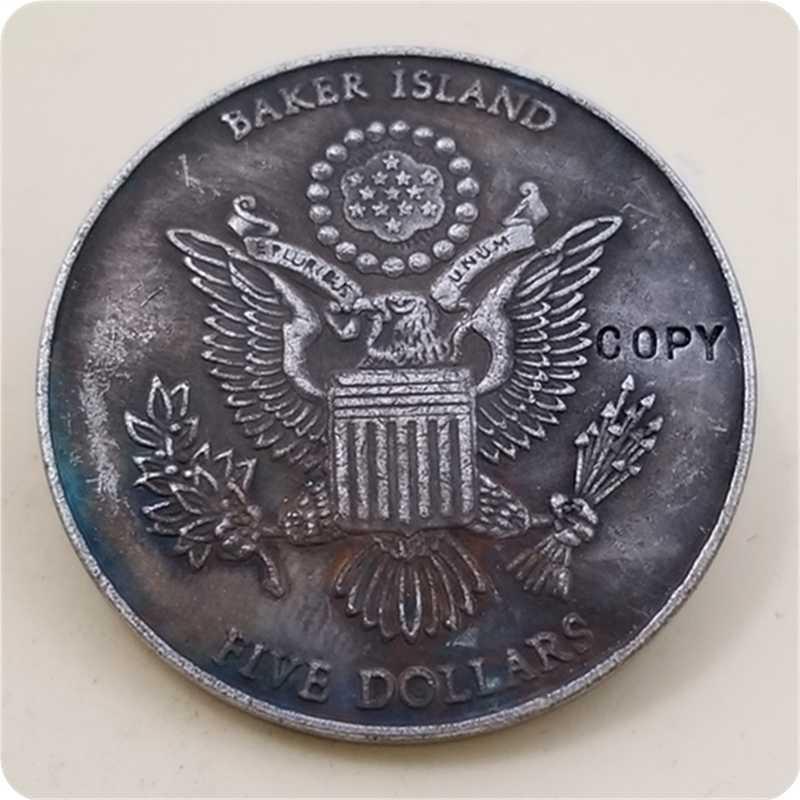 (1945-2005) joseph stalin 60th anniversary van de yalta conferentie vijf dollar COPY COIN GRATIS VERZENDING