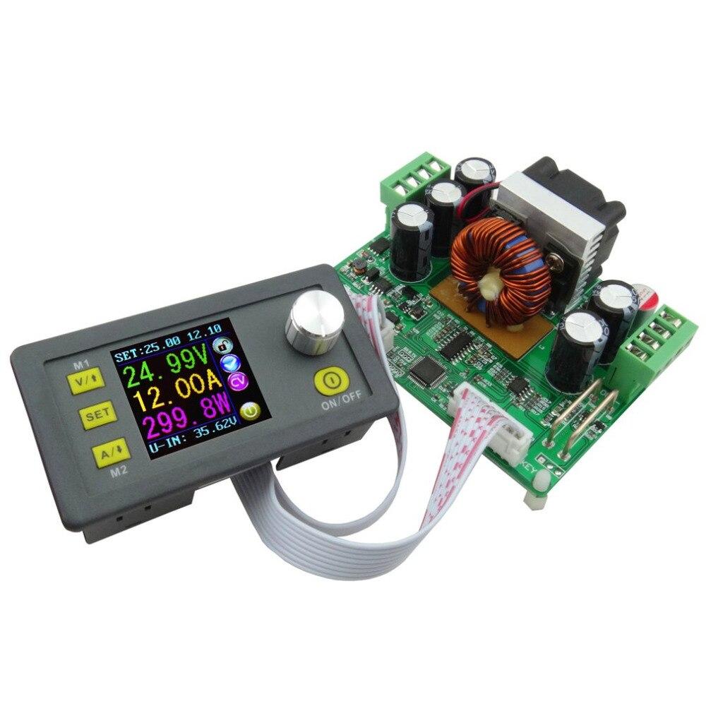 DPS3012 постоянной Напряжение ток Шаг вниз программируемый Питание Напряжение конвертер ЖК-дисплей вольтметр Связь Функция