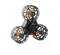 Fidget Spinner Toys with flying gyroscope toy gift rc drone
