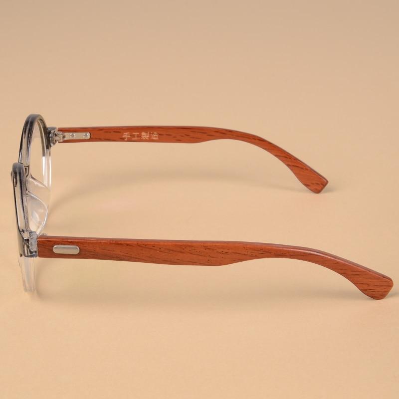 aliexpresscom buy 2017 vintage round frame wood glasses frames women men personality handmade wooden eyeglasses fashion prescription eyewear frame from - Wood Eyeglass Frames