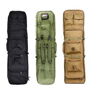 Image 1 - 85 96 120 centimetri di Nylon Del Sacchetto della Pistola di Caso sacchetto di Fucile Zaino per Sniper Carabina Softair Fondina Ripresa Portatile Sacchetti di Caccia accessori