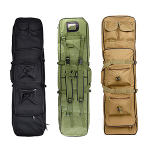 Image 1 - 85 96 120cm Nylon Gun Bag Case Rifle bag Backpack for Sniper Carbine Airsoft Holster Shooting Portable Bags Hunting Accessories