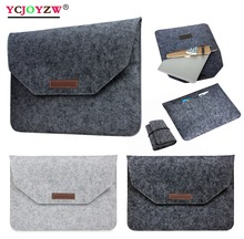 Envelope Sleeve Bag Case For Macbook Air 13 Pro Retina 11 12 13 15 - Notebook Laptop Cover For Macbook Pro 13.3 inch-YCJOYZW binful portable soft sleeve laptop bag computer bag smart cover 11 13 1415 for macbook air pro retina all notebook 15 6 inch