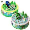 1 UNIDS Inercia Thomas Tren Thomas & Friends Birthday Cake Topper Recoge Regalos de Cumpleaños Para Niño Baby Shower Fiesta de Cumpleaños suministros