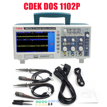 Cdek dso1102p 디지털 오실로스코프 휴대용 100 mhz 2 채널 1gsa/s 레코드 길이 40 k usb lcd 오실로스코프 dso5102p 비교