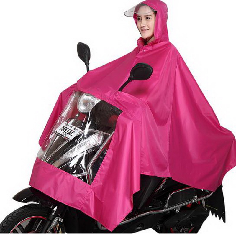 Motorcycle electric car raincoat/ adult thickening male and female single battery car Safety/ Comfortable/ poncho /tb161147