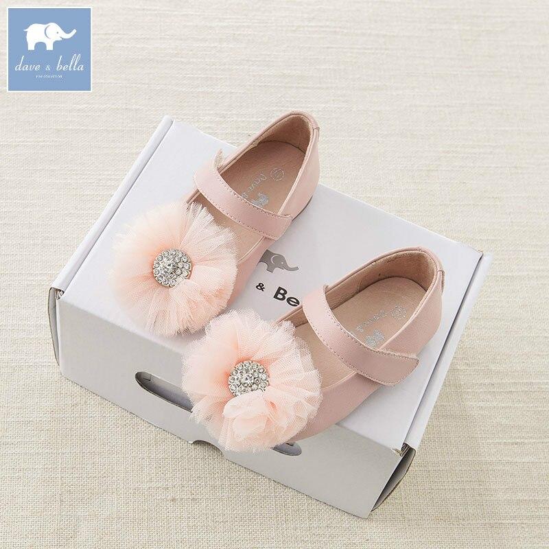 Babyschuhe Db6747 Dave Bella Frühjahr Baby Mädchen Leder Schuhe Kinder Marke Schuhe Preisnachlass
