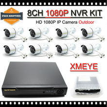 New 8CH 1080P NVR Surveillance Kits with 8pcs 2.0MP IP CAM 1080P Out of doors Community CCTV House Safety Digital camera System