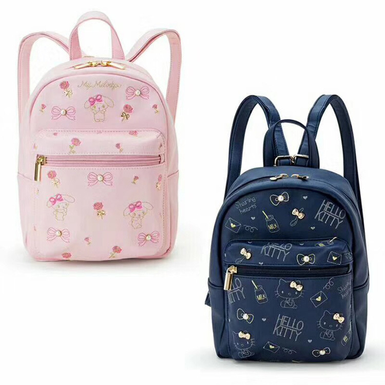 50516427c1 2018 Rushed Sale Mochila Feminina School Bags For Cute Melody Kitty  Children Backpack The Little Girl