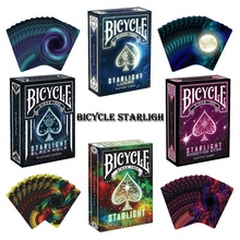 1 Deck Bicycle Starlight Series Deck Playing Cards Magic Cards Poker Close Up Stage Magic Tricks for Professional Magician