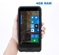 China K72H Windows 10 Rugged Waterproof Mobile PDA phone 4GB RAM 64GB ROM Handheld Data Tablet PC GPS 2D Scanner K62H Upgrade