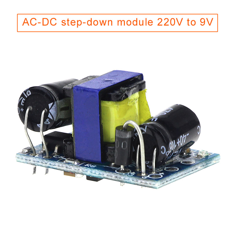 220V To 90V AC-DC Step-down Module Isolation Switch Power Supply 9v500mA