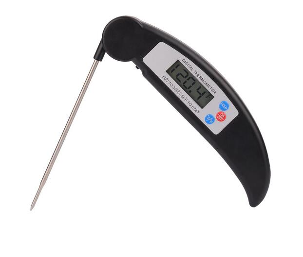 New Folding Kitchen Cooking Food Meat Probe Digital Thermometer Electronic BBQ Gas Oven Thermometer Cooking grill thermometer