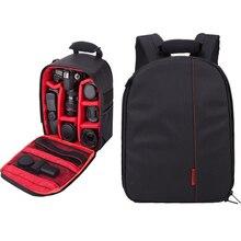 AKASO Professional NylonSling Камера сумка для хранения прочный водостойкий рюкзак чехол Мультифункциональный цифровой DSLR камера SLR Чехол