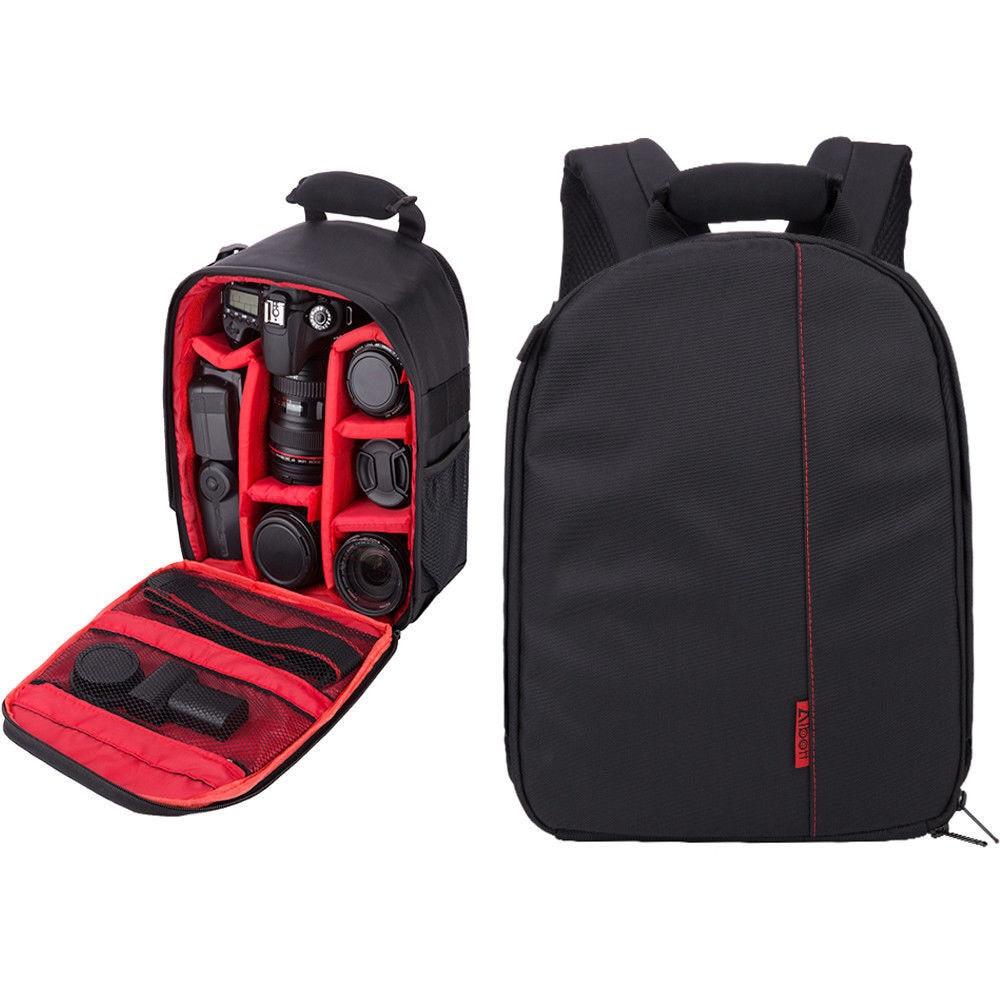 Professional Sling Camera Storage Bag Durable Waterproof Backpack Case Multi-functional Digital DSLR Camera SLR Camera Case