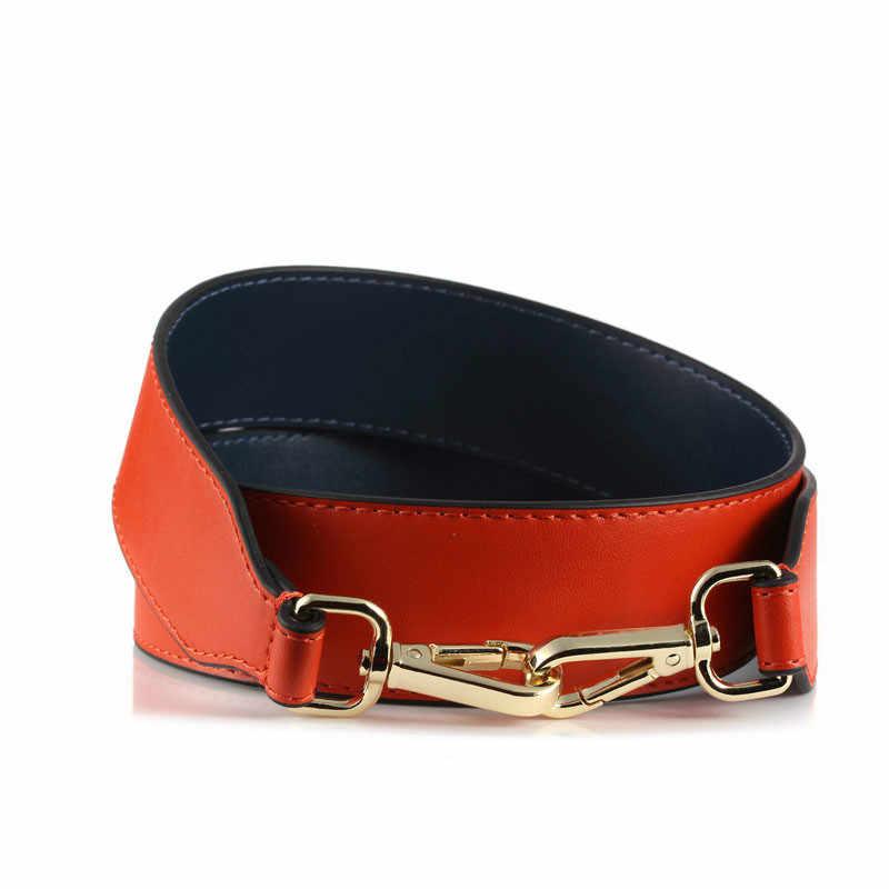 Replacement belt Strap Genuine Leather Belt Removable Belt for H Buckle Width 13mm