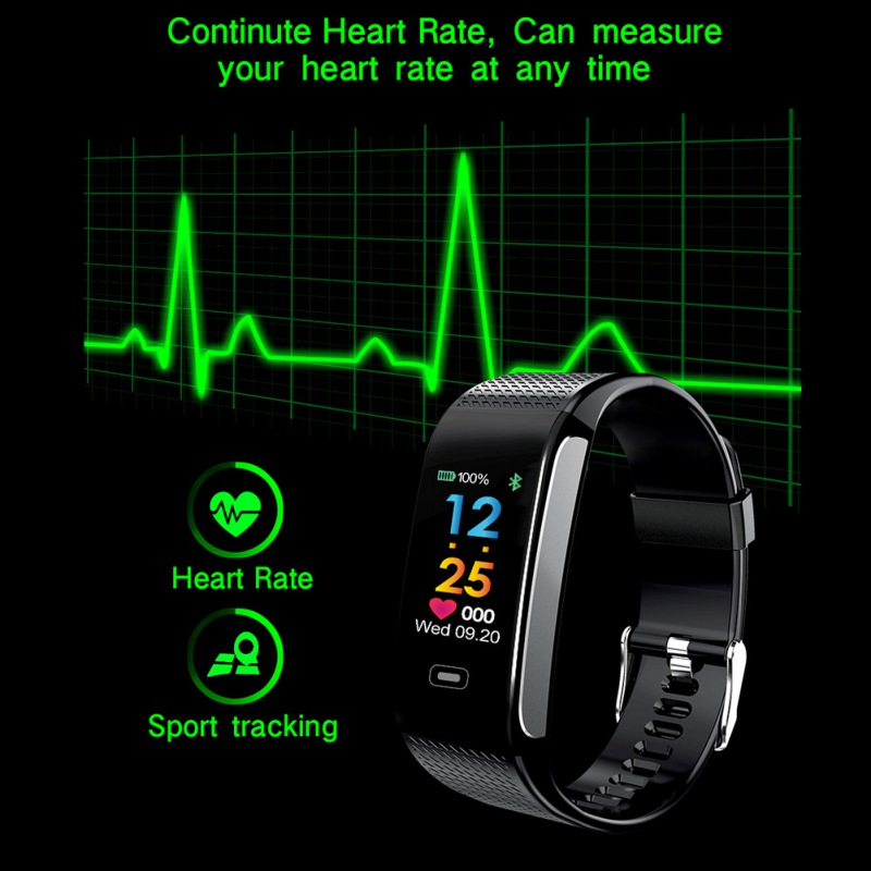 New Smart Wristband Heart Rate Fitness Tracker Men women Blood Pressure Oxygen Waterproof Sport Smart bracelet watch(China)