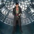 Sindicato Jacob Frye Juego Assassins Creed Cosplay Ropa de Halloween Traje de Cosplay Película Apoyos para Los Hombres Por Encargo