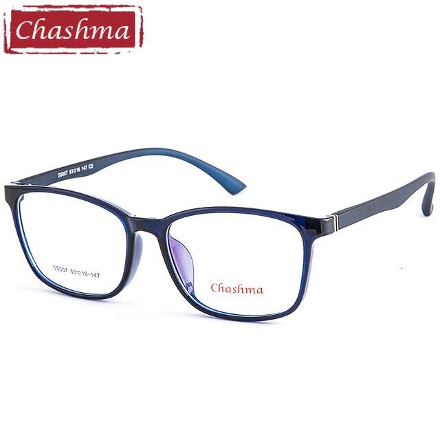 db28e5d2fc8 Chashma Brand Simple Designer Women Eyeglasses Men Optical Glasses Frames  TR 90 Light Frames for Eye