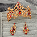 Hot Projetos Europeus real rei rainha coroa de strass tiara de jóias cabeça Casamento coroa de noiva Tiaras Coroas Pageant quinceanera