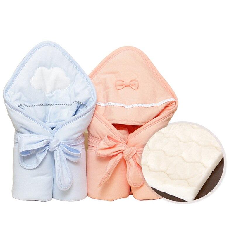 SexeMara Newborn Baby Stroller Envelope Blanket Infant Baby Sleeping Bag Receiving Sleepsacks Wrap Swaddle цена