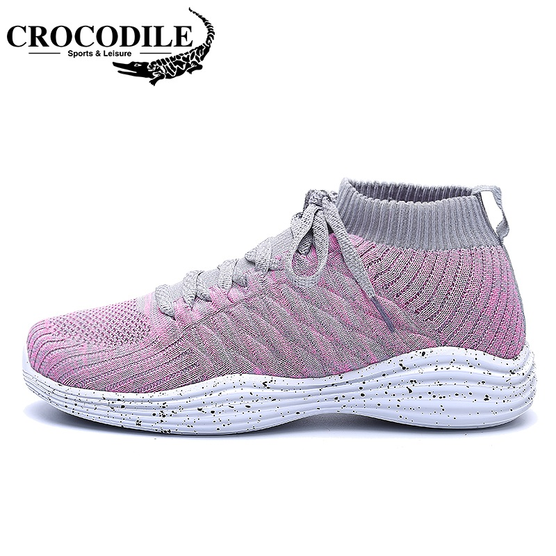CROCODILE Ladies Thermal Sneakers Women Athletic Boot Femme Sport Shoes Zapatillas Hombre Deportiva Women Jogging Running